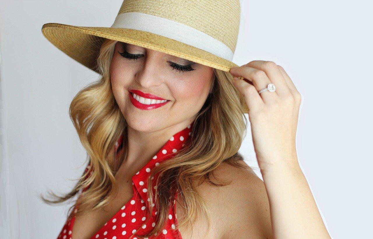 chapeau en paille femme